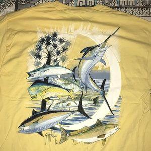 Guy Harvey Yellow T-shirt Yellow